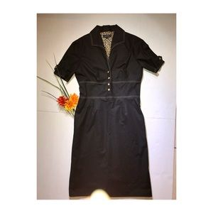 TAHARI Arthur S. Levine Black Dress, Size 6